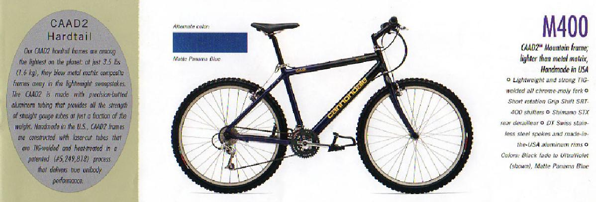 Cannondale M400 Regenerated To Urban Utility Bike