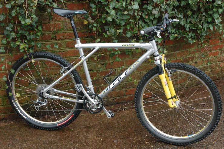 1995 Gt All Terra Zaskar Le Bike